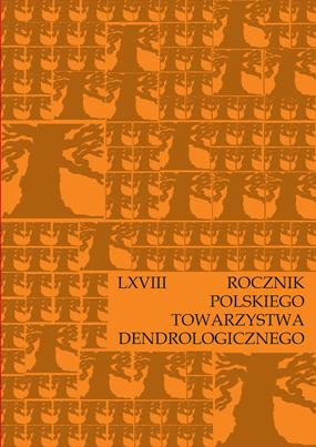 Okładka Rocznika PTD vol. 64
