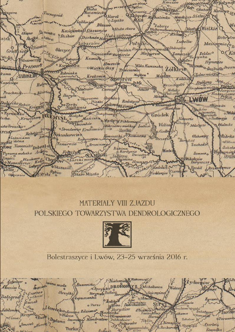 Okładka - materiały z IX zjazdu PTD
