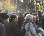 Uroczystości w 10 rocznicę śmierci W. Senety, kampus SGGW w Warszawie (fot. M. Pstrągowska, K. Borkowski)