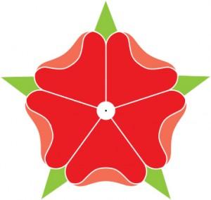 logo - róże