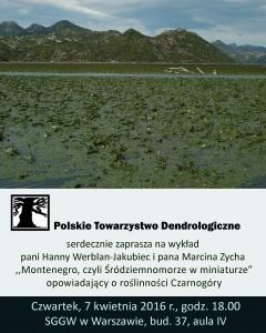 Ekspedycja botaniczna do Czarnogóry