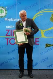 Jacek Borowski z Zielonym Laurem