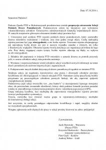PTD - Sekcja Polskich Drzew Pomnikowych in spe