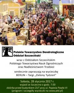 "BERLIN – Targi ""Zielony Tydzień"""