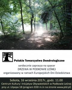 PLAKAT-spacer-Podkowa-Lesna