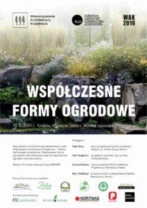 Konferencja szkoleniowa 'Współczesne formy ogrodowe'