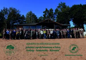 """Zdjęcie z konferencji """"Arboreta i ogrody botaniczne w Polsce"""""""